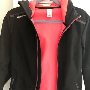 Decathlon black winter jacket